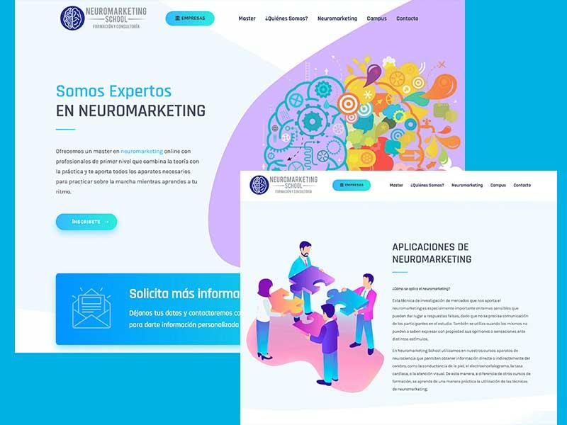 Neuromarketing School   Diseño Web y SEO 1